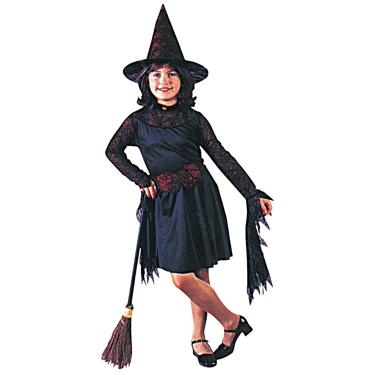 Girls Witch Of The Web Costume