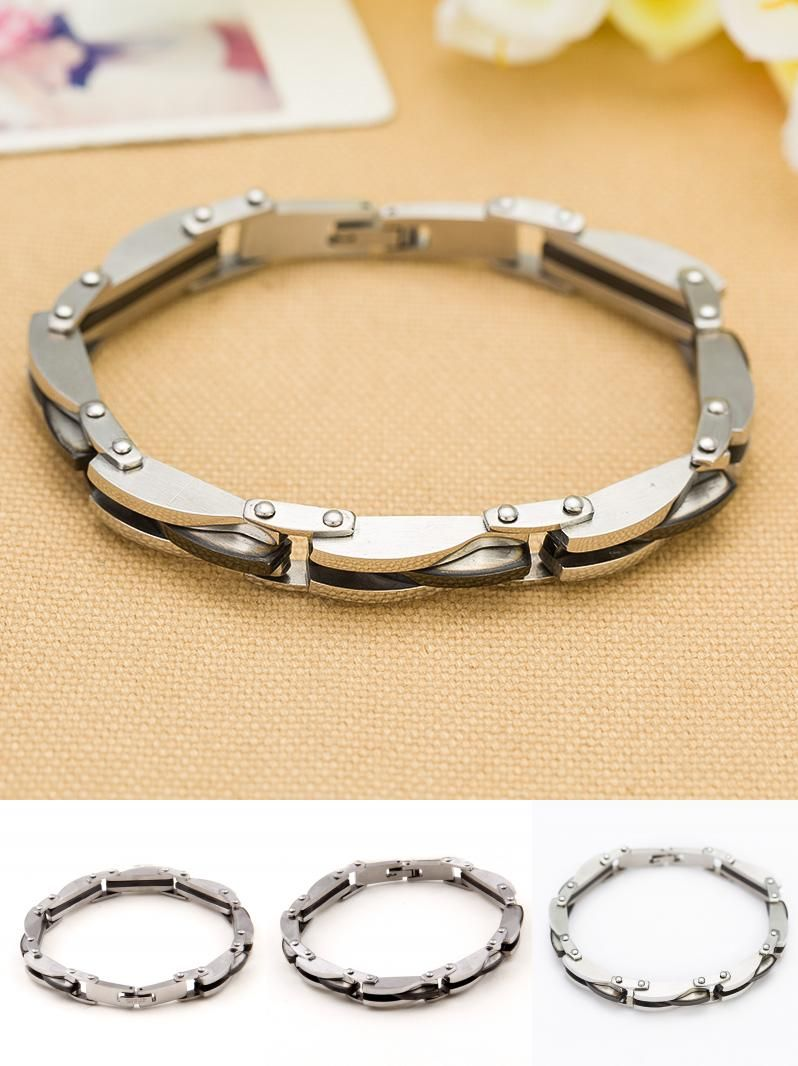 Visit to buy niba jewelry stainless steel bracelet men bracelet