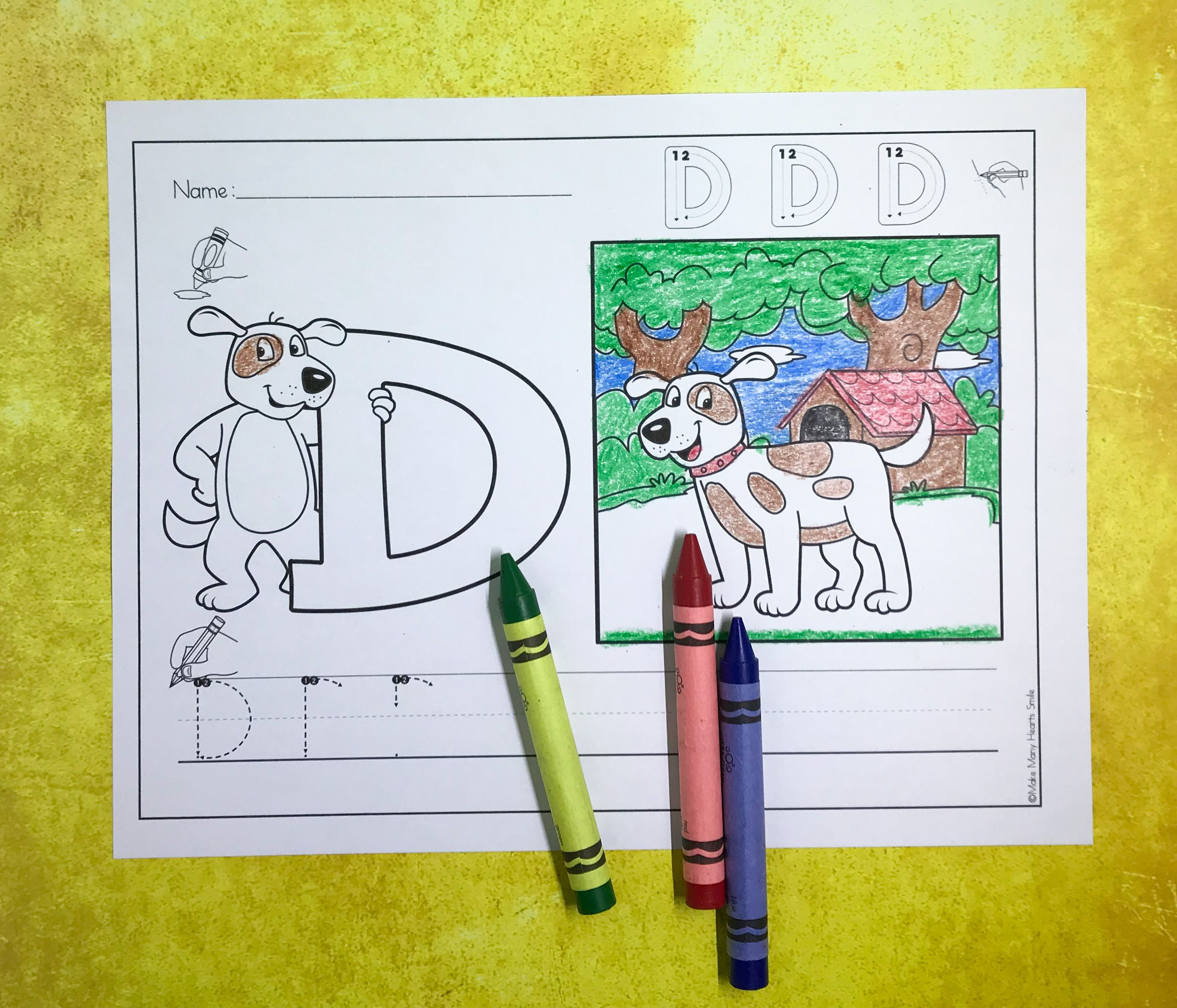 Learn The Letters With Animals A To Z Mhs8