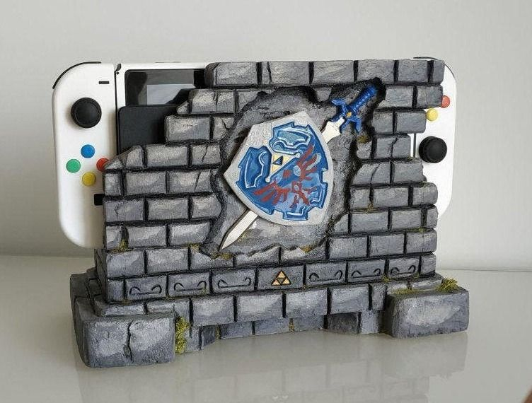 Zelda Nintendo Docks  Mugen No Mise on Etsy  See our or Legend of Zelda tags -