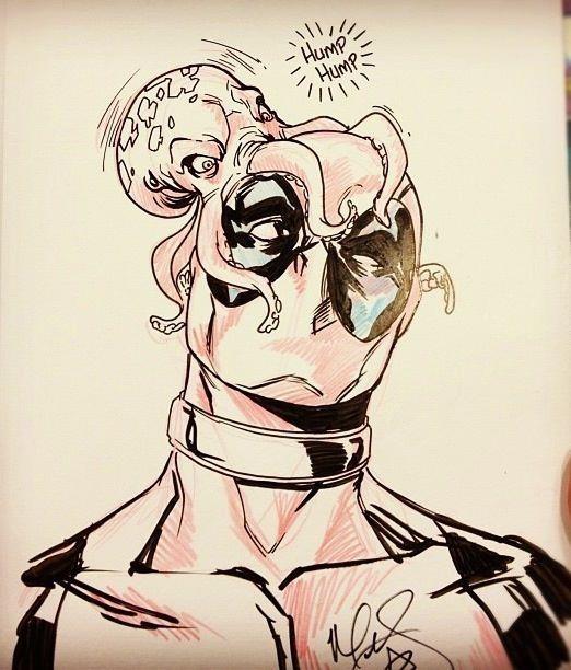 Mark Brooks - Dead pool  Comic Art