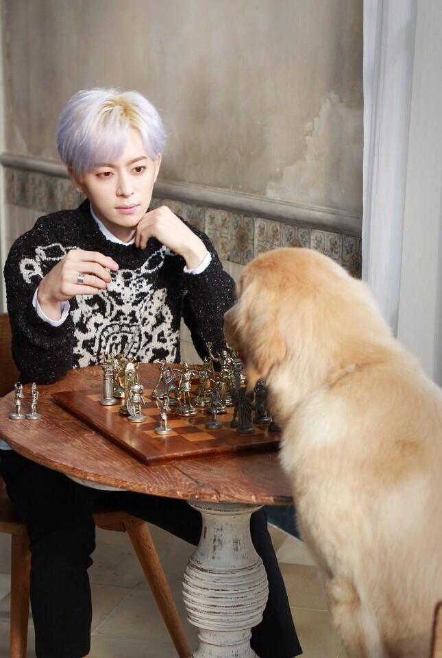 [B.F동현] 먼지랑 체스두기 어렵다... 성공할 수 있을지 내일 #스타쉽플래닛 #LOVEISYOU 뮤비에서 확인 가능ㅋㅋㅋ #러브이즈유 [TRANS] [B.F Donghyun] It's hard to play chess with Meonji... You can check whether I'm success or not tomorrow in #스타쉽플래닛 #LOVEISYOU music videoㅋㅋㅋ #러브이즈유