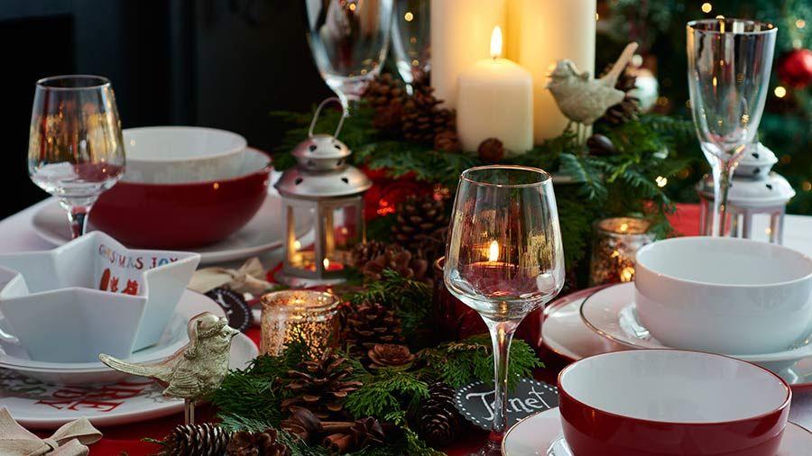 Tesco Non Food Formerly Tesco Direct Tesco Christmas Table Settings Christmas Table Christmas Dining Table