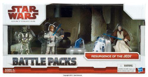 Battle Packs Resurgence Of The Jedi