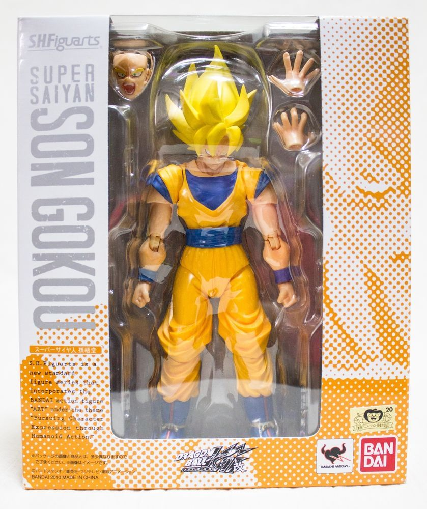 Dragonball Z Kai S H Figuarts Super Saiyan Son Goku Action Figure