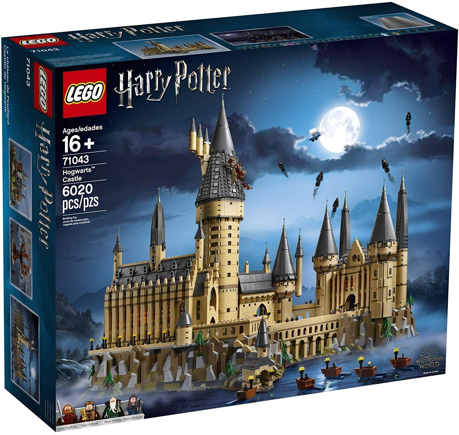 Children Can Build A Hogwarts Castle Replica Complete With A Host Of Harry Potter Characters Including 4 Harry Potter Figures 27 Microfigures The Chamber Of S Nel 2020