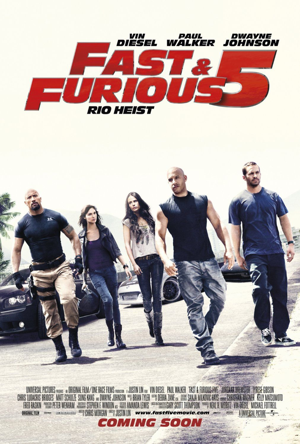 FAST FIVE (FAST & FURIOUS 5: THE RIO HEIST)