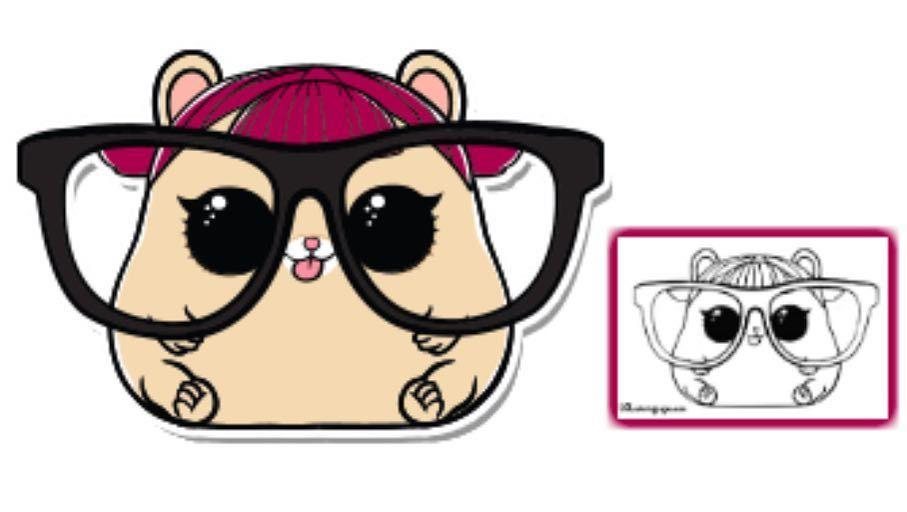 Pet Cherry Ham Color Raskraski Risunki Dlya Raskrashivaniya Kukly
