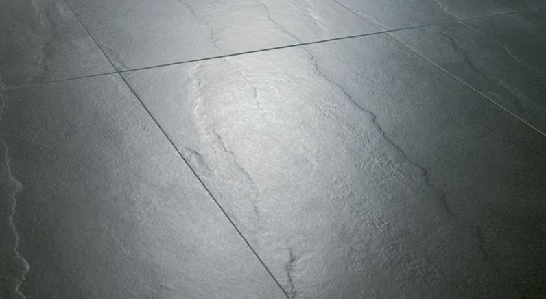 Carrelage rectifi gris fonc imitation pierre grey for Carrelage gris fonce