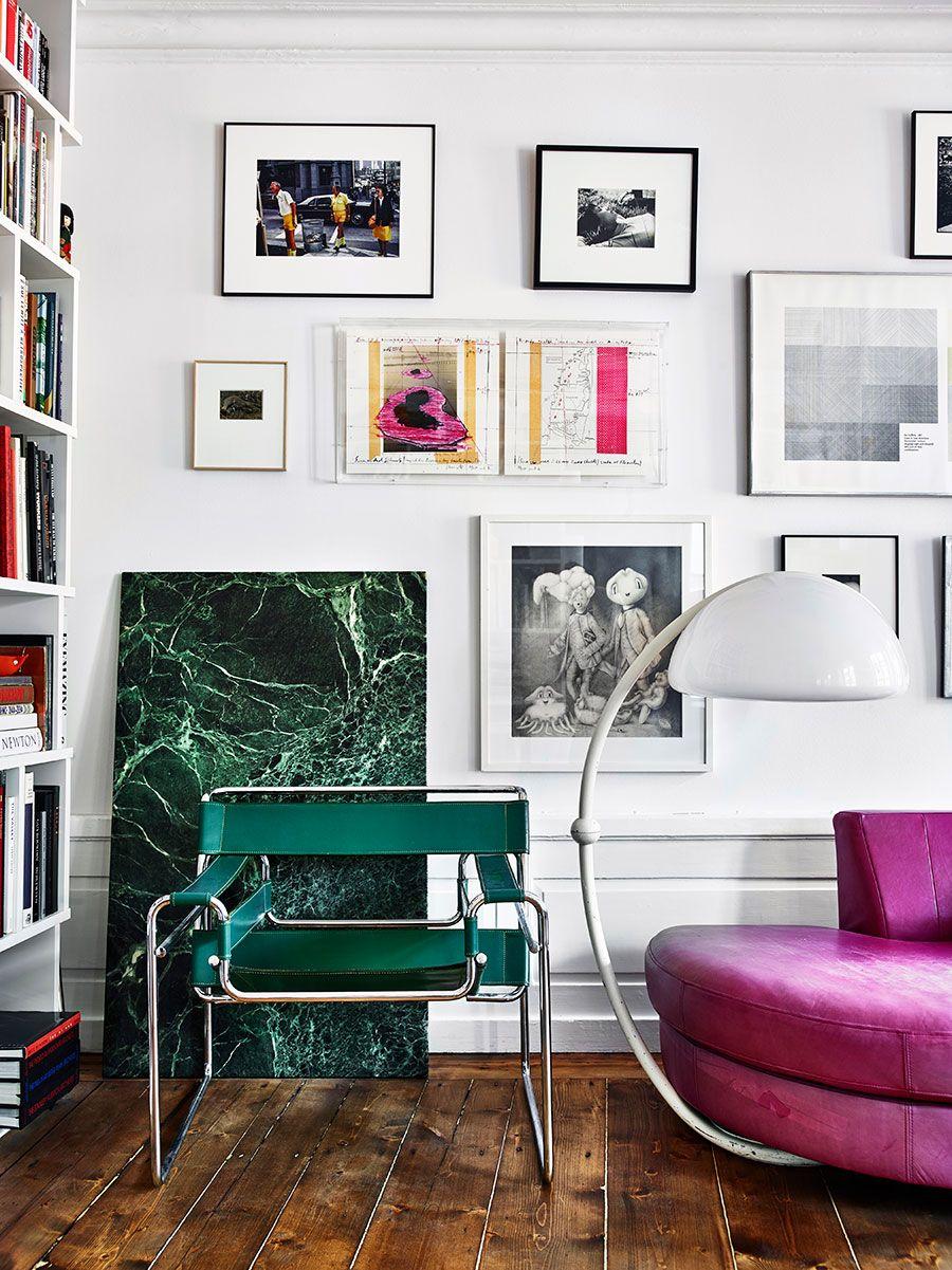 Inspirationsgalleriet Salon StyleEclectic DecorEccentricFashion DesignersStockholmInterior DecoratingInterior DesignGallery Wall