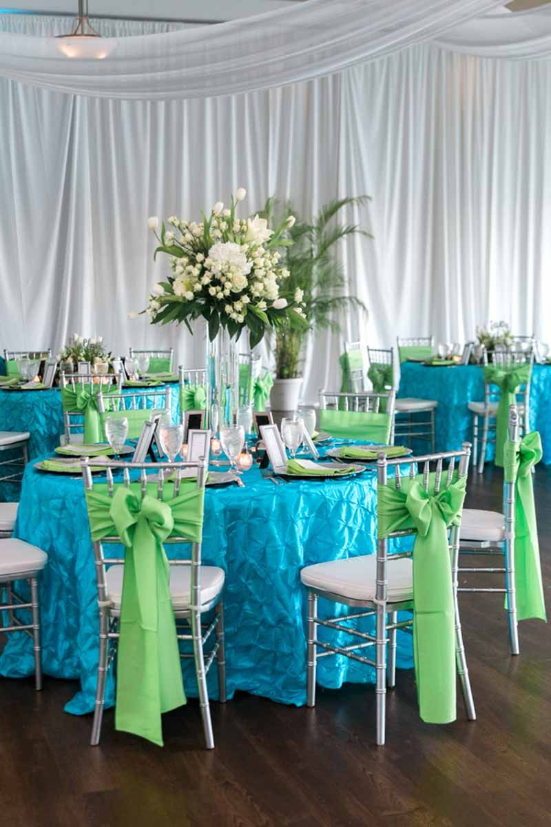 Beach Wedding at the Boca Ciega Ballroom | Orange blossom, Green ...