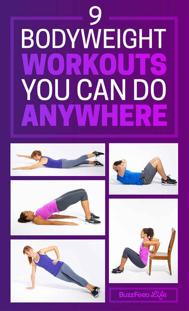 9 Quick Bodyweight Workouts You Can Do Anywhere (With ...