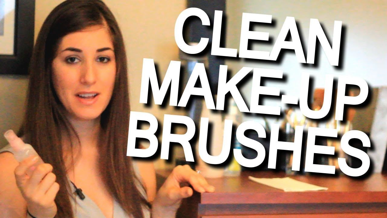 Photo of Cleaning expert Melissa Maker shows us how to clean makeup brushes using simple …