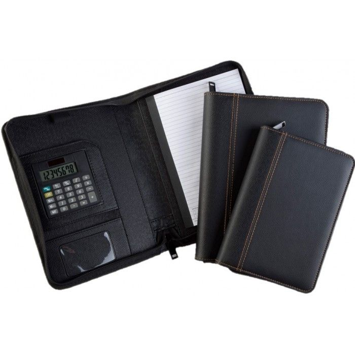 Available on our Corporate Gifts Singapore store: Folder with Zip a... Check it out here! http://abrandz.com/products/folder-with-zip-and-calculator?utm_campaign=social_autopilot&utm_source=pin&utm_medium=pin