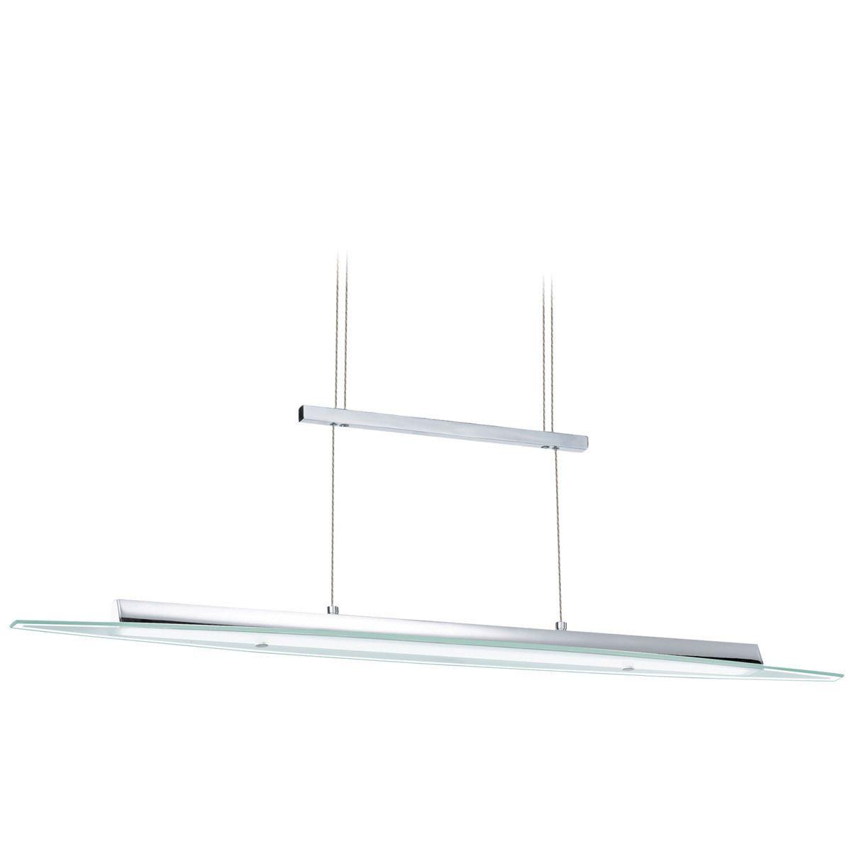 Fredrick Ramond FR47206pn Polished Nickel Omni 6 Light Linear Chandelier//Island