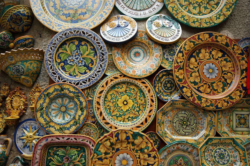 Larte della maiolica siciliana sicily pinterest arte