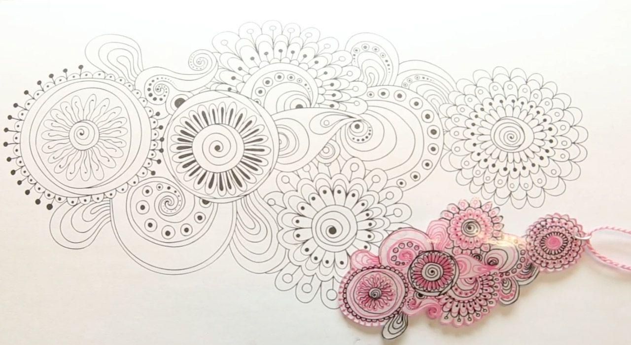 Avec de jolis motifs à colorier, une feuille de plastique dingue (plastique fou) et quelques crayons de couleur, créez des bijoux uniques très originaux, faciles et vraiment pas chers. Mode ...