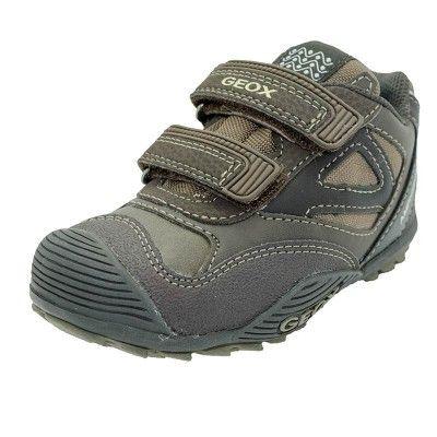 zapatos geox infantil gris