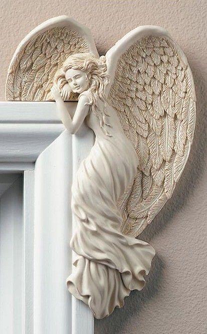 Guardian Angel Right Door Corner Angel Buy Angel Home Decor Today Now Get This Unique Angel Right Corner Angel To Add A Delightful Tou Angel Decor Wings Angel