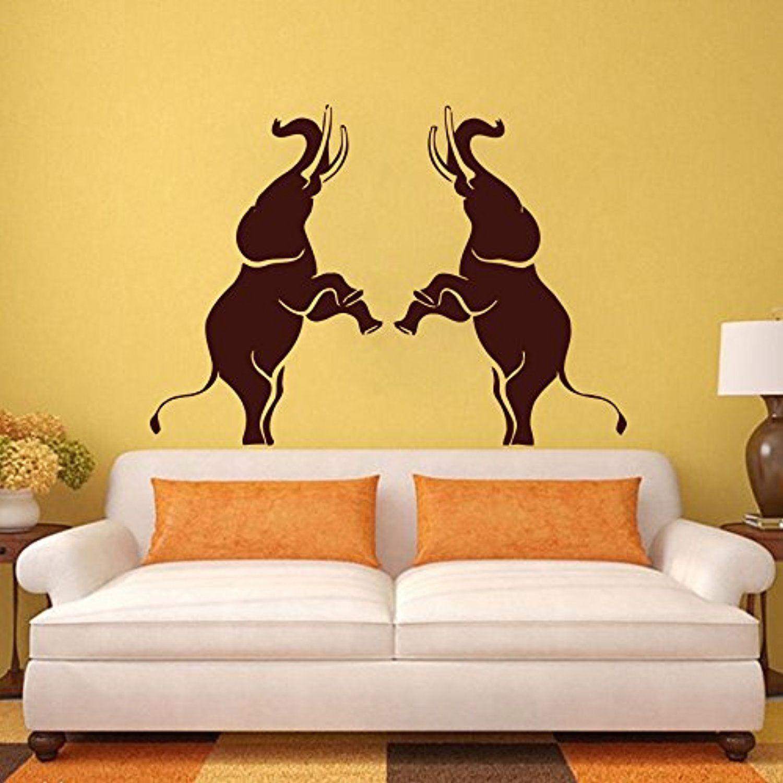 Elephant Wall Decals Vinyl Sticker Children Nursery Bedroom Decal Home