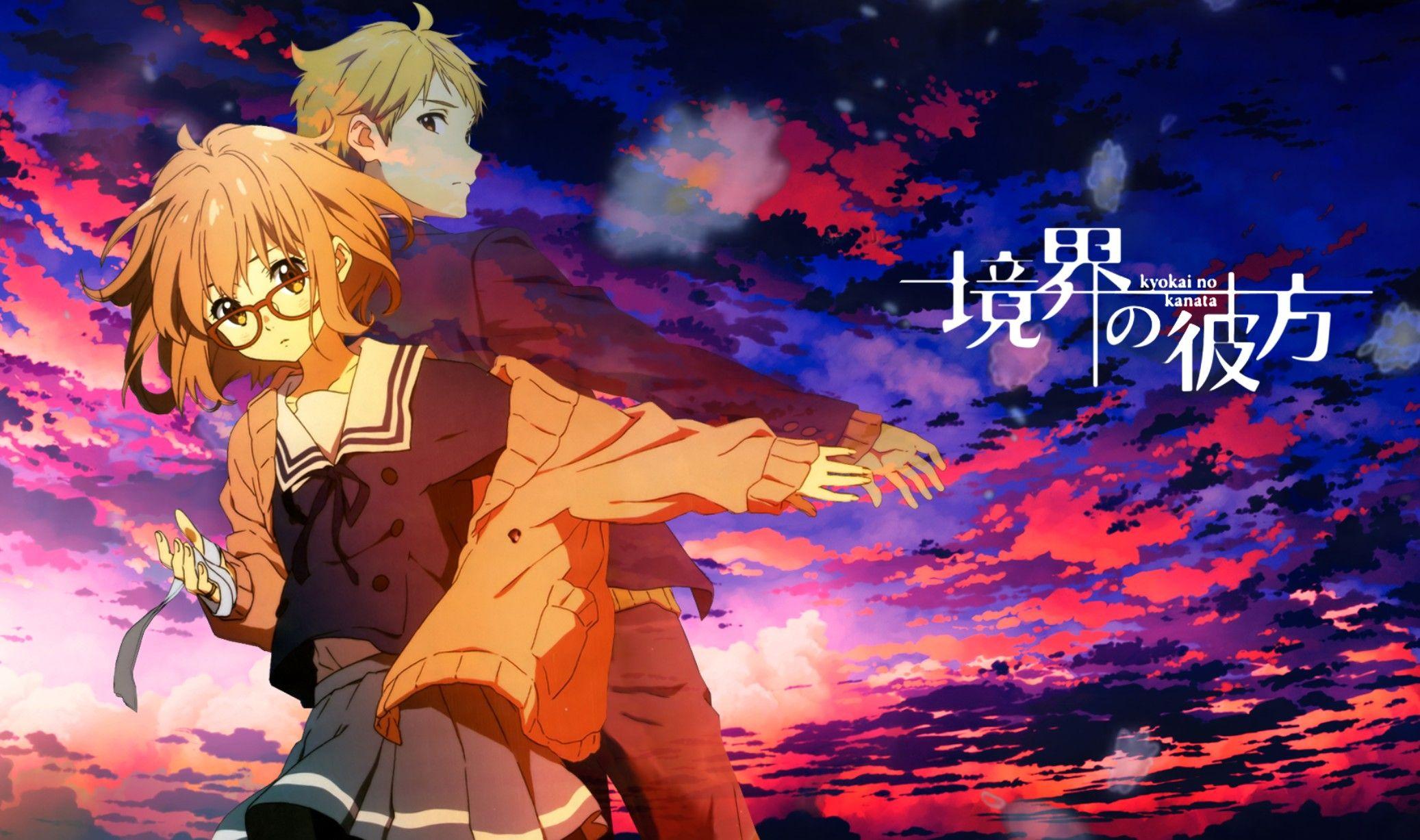 Kyokai No Kanata (With images) Good anime series, Anime