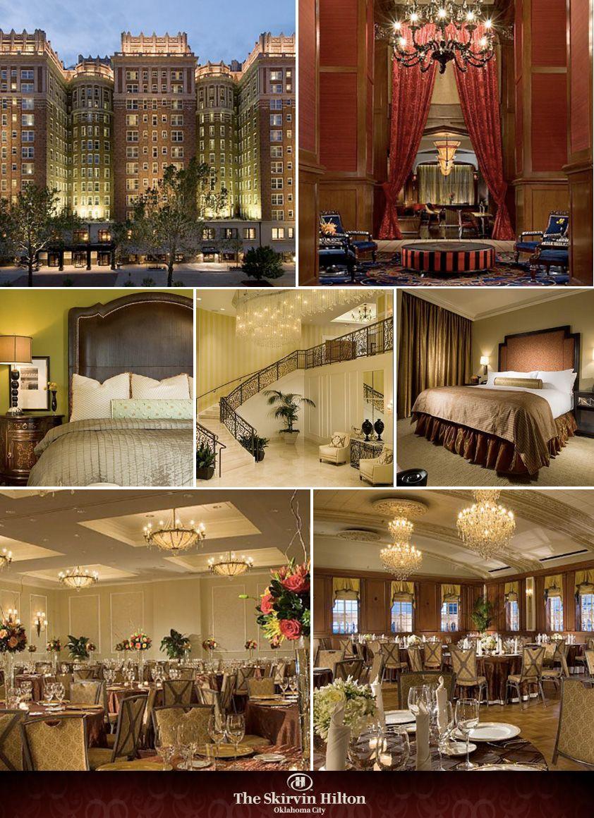 Hotel designed by Duncan Miller Ullmann - Dallas, TX The Skirvin ...