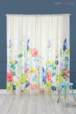 Buy Bluebellgray Tetbury Pencil Pleat Curtains From The Next Uk
