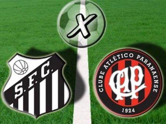 Santos x Atlético Paranaense foto 550x411 Assistir Transmissão Santos x Atlético Paranaense Ao Vivo