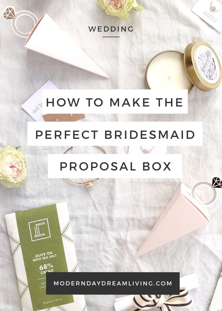 What To Put In A Bridesmaid Proposal Box Items That Your S Actually Want