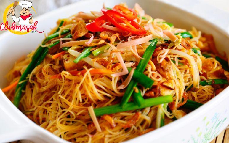 Resep Hidangan Nasi Bihun Goreng Ala Thailand Club Masak Yam Fries Huang Kitchen Yams