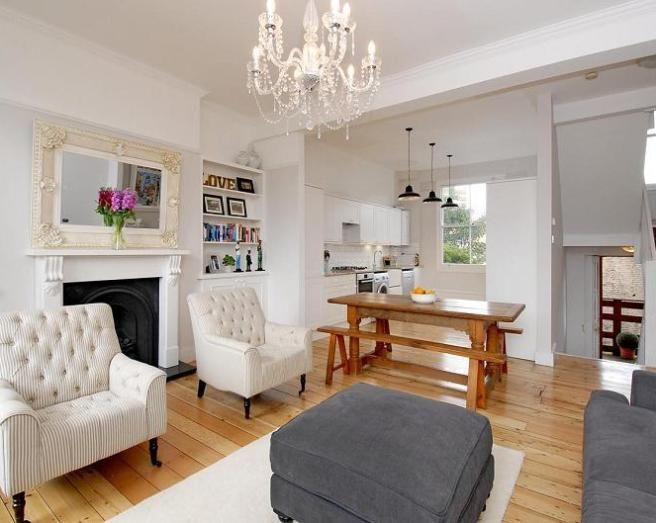 small open plan kitchen diner living room leather furniture designs 20 best design ideas