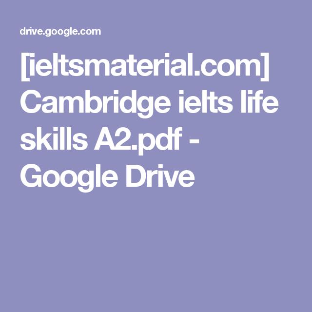 IeltsmaterialCom Cambridge Ielts Life Skills APdf  Google
