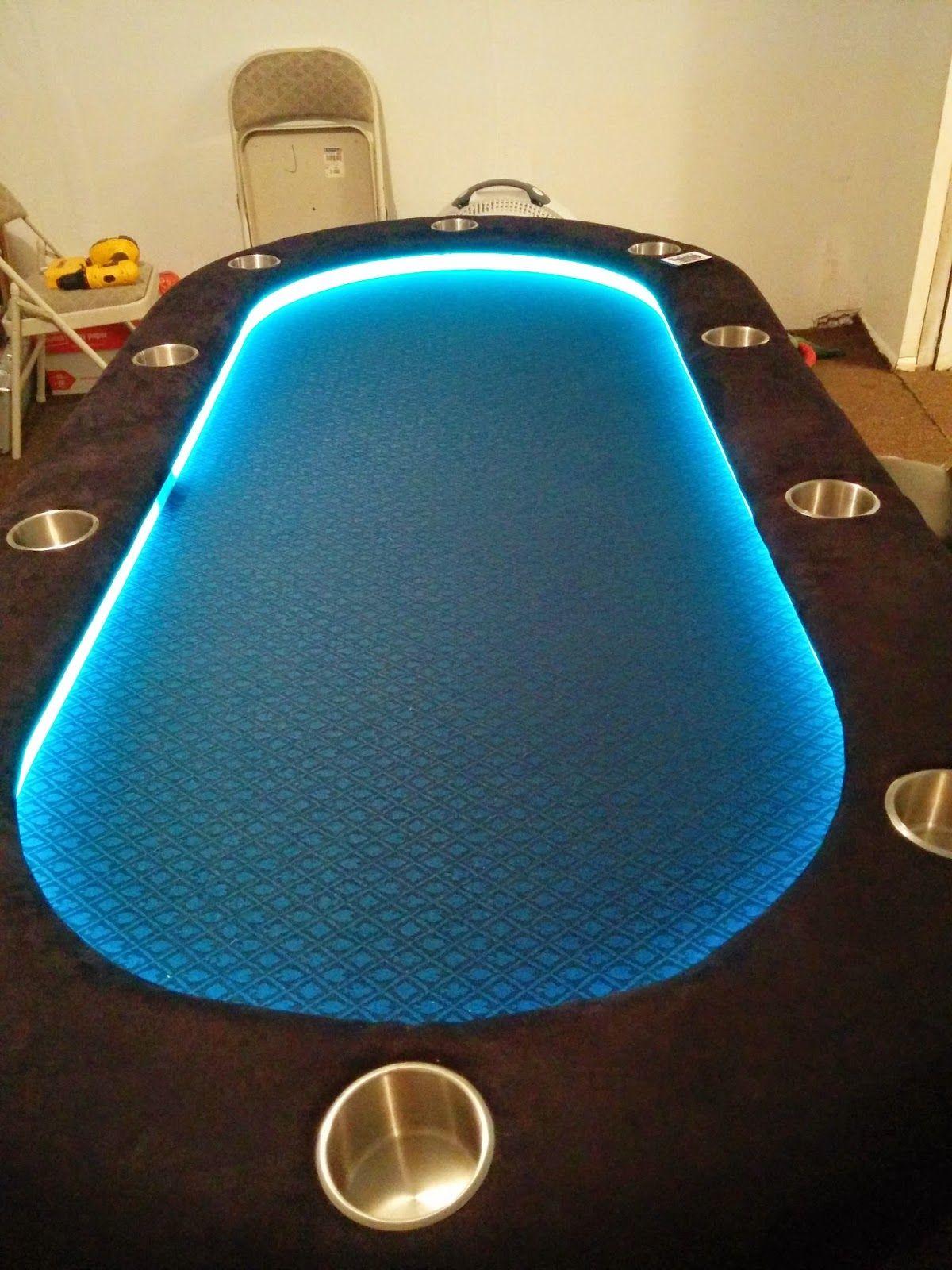 DIY Poker Table … Poker table diy, Poker table, Poker