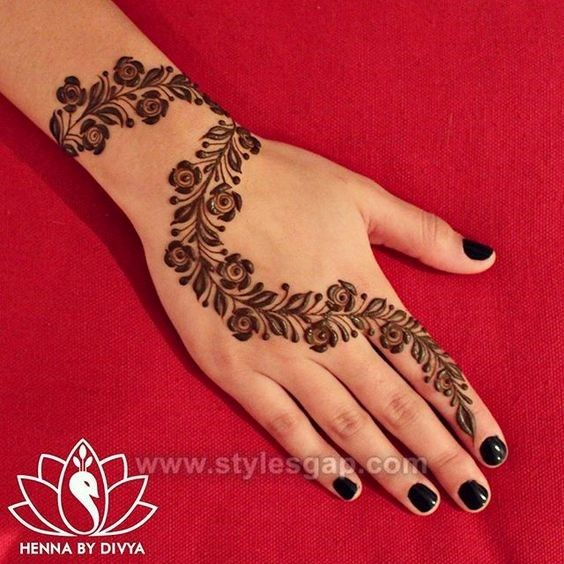Beautiful Easy Finger Mehndi Designs 2018 2019 Styles My Style