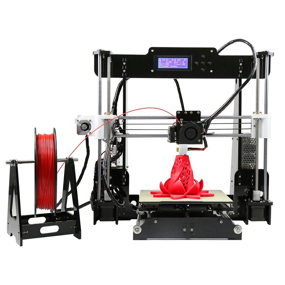 High Precision 3d Printer Machine High Accuracy Reprap Prusa I3 Aluminum Profile Diy Kit 3d Printer 3d Printer Kit Desktop 3d Printer 3d Printer Diy