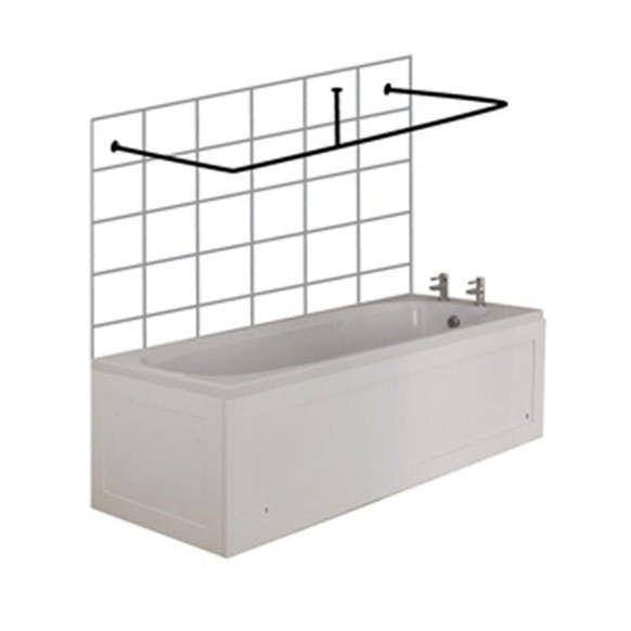 Curved Shower Curtain Rail For Corner Bath Accessories