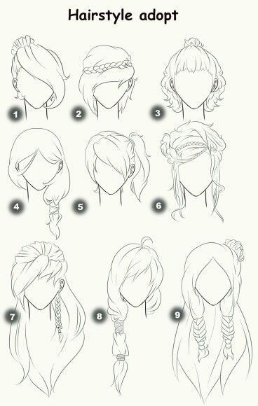 Drawing Hair Sketches Drawings How To Draw Hair