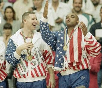 Chris Mullin and Charles Barkley