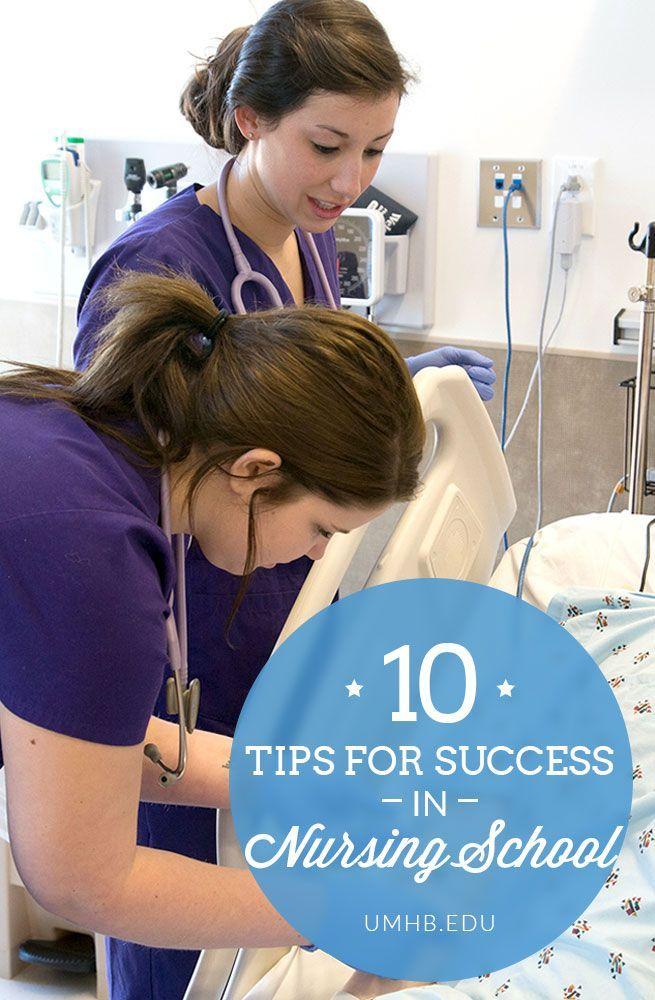 10 Tips For Success In Nursing School Nursing School Tips College Nursing Nursing Tips