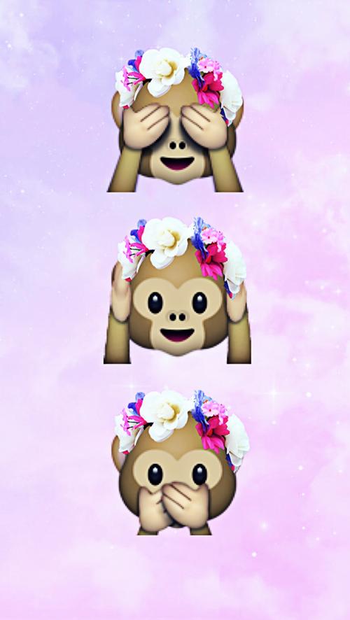 Imagine Descoperit De Szendrei Zsofia Descoperă și Salvează Propriile Imagini și Videoclipuri Pe We Heart It Emoji Wallpaper Cute Wallpapers Monkey Emoji