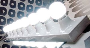 Make Up infallibile con le lampade della Flaminia