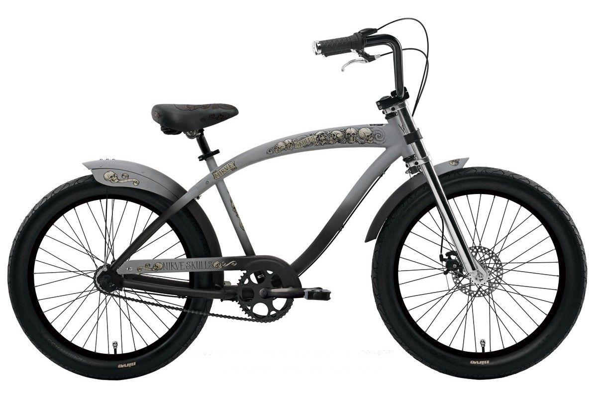 Nirve Chopper Skulls Matte Grey 02  Le vélo de mes rêves !
