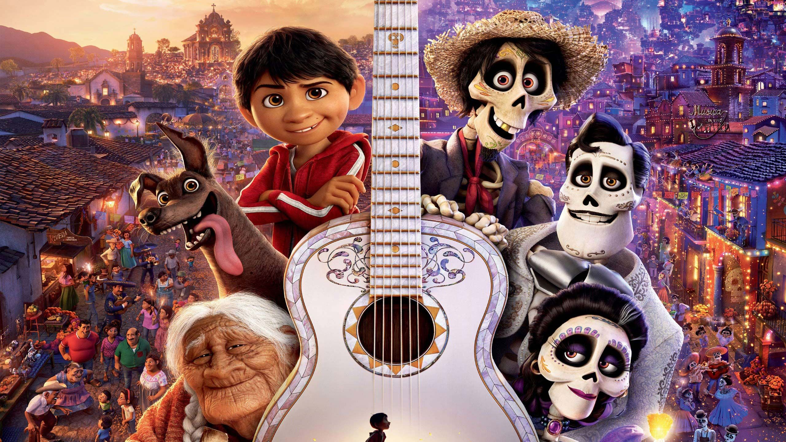 Free Coco Pixar Movie Computer Desktop Wallpapers Pictures Images Pixar Animation Film Coco