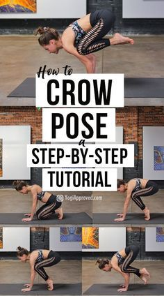 learn how to master crow pose with this stepbystep yoga