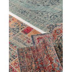 Photo of benuta Trends Flachgewebeteppich Stella Blau 80×150 cm – Vintage Teppich im Used-Lookbenuta.de