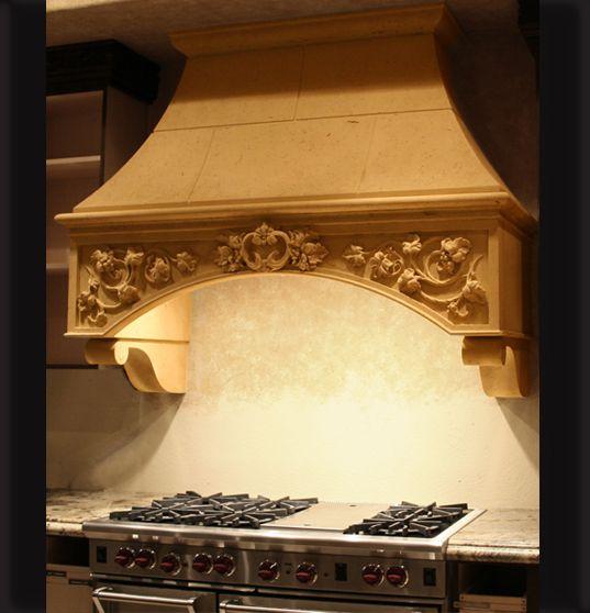 Arizona Hacienda Kitchen Cabinets: DRESS UP YOUR KITCHEN WITH A DECORATIVE RANGE HOOD
