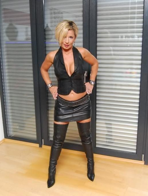 Milf In Leather Boots