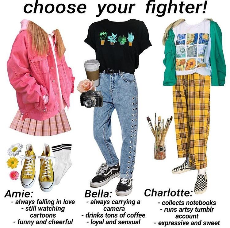 Different Types Of Aesthetics Clothing