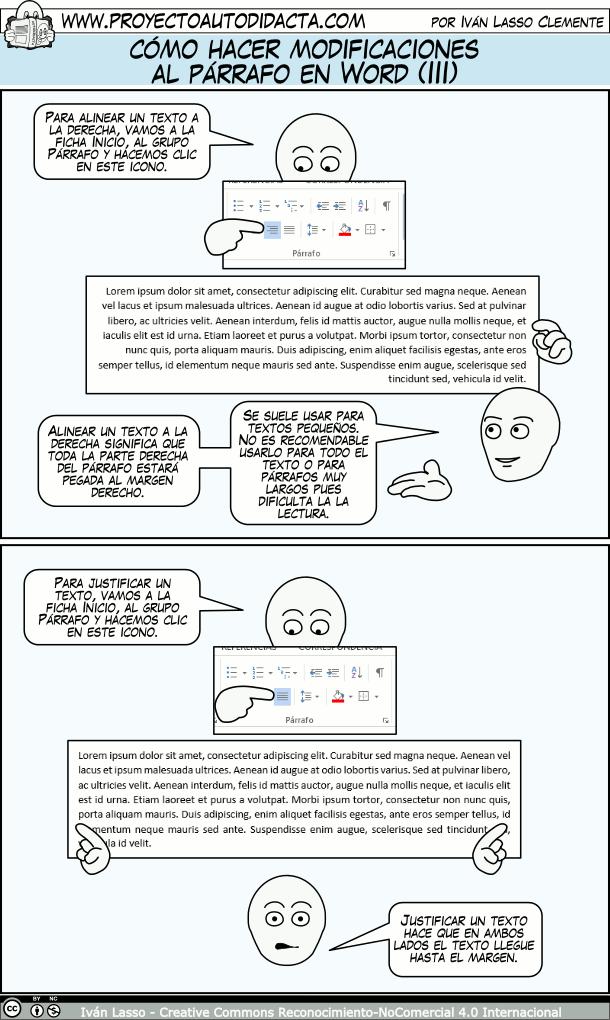 Cómo Hacer Modificaciones Al Párrafo En Word Parte 1 Clase De Informática Informatica Y Computacion Informática