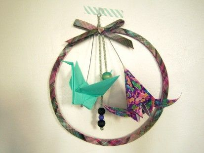 origami dream catcher